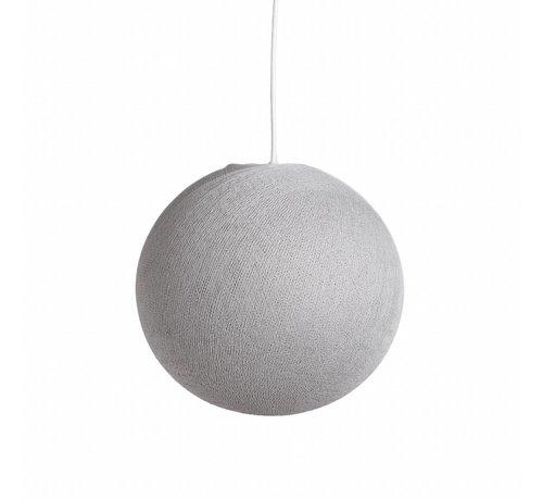 Ledr Witte cottonball hanglamp  31 cm