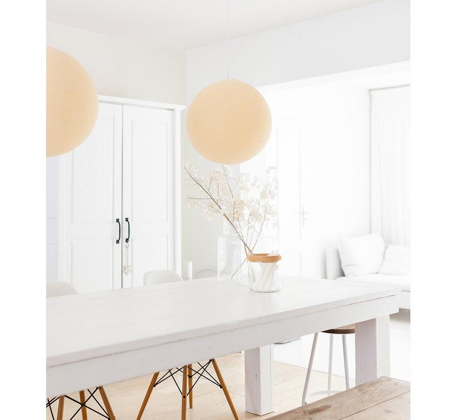 Creme cottonball hanglamp  31 cm