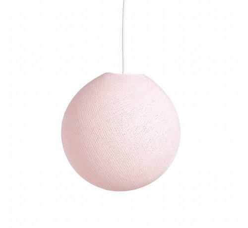 Ledr Cottonball hanglamp  31 cm  - Light pink
