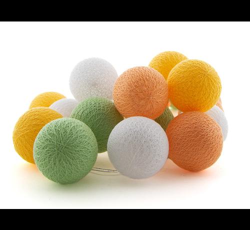 Ledr Outdoor cottonballslinger starterset - Flor