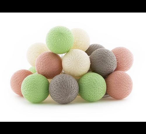 Ledr Outdoor cottonballslinger starterset - Paraiso
