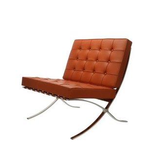 Barcelona chair cognac