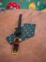 Merry Marie Groene halsband  met strik - FOREST