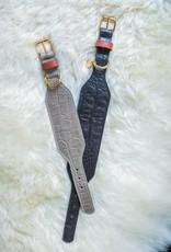 Greyhound halsband Taupe