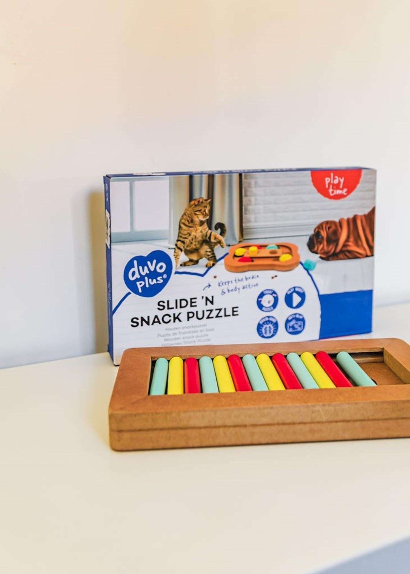 Duvo+ Slide 'n snack puzzle