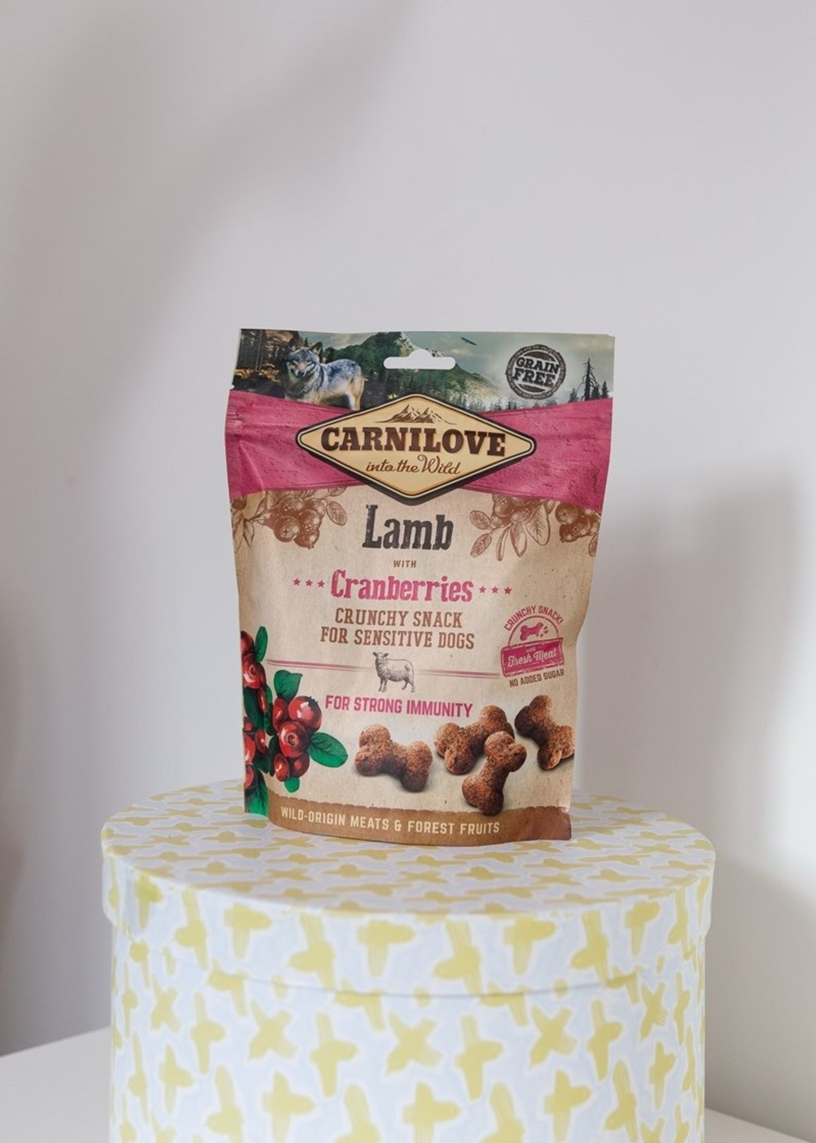Carnilove Crunchy Snack Lam / Cranberries
