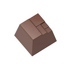 ambachtelijk vervaardigd in eigen atelier Modern vierkant, 500 gr.
