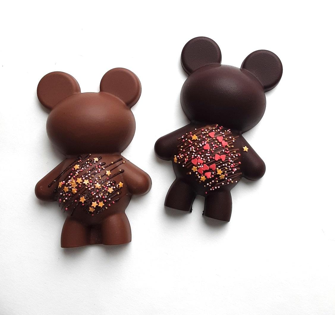 ambachtelijk vervaardigd in eigen atelier Chocolade pinata Beertje
