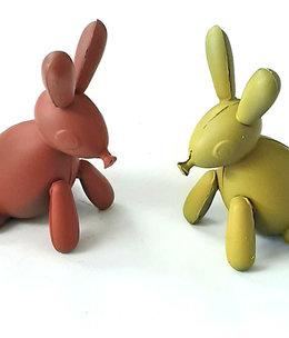 ambachtelijk vervaardigd in eigen atelier Ballonnen konijntje