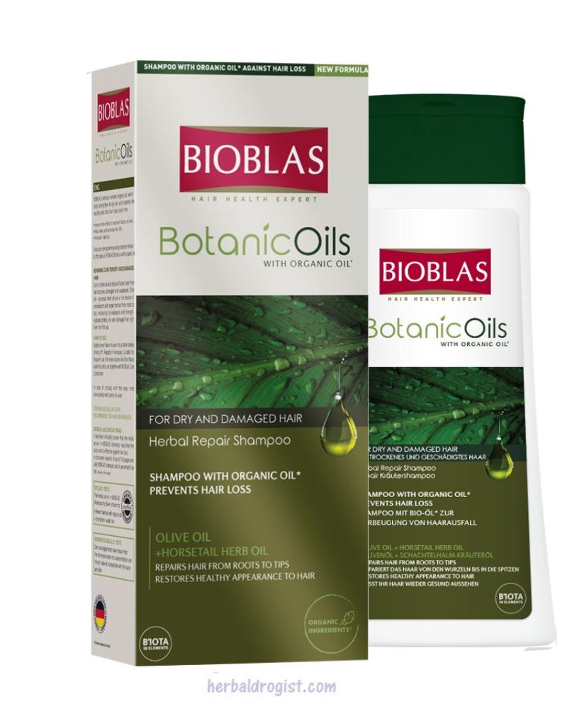 Bioblas Bioblas Herstel Shampoo 360 ml  (Voor droog/beschadigd haar)