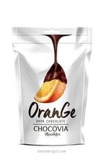 Chocovia  Chocovia Bitter Çikolata Kaplı Portakal