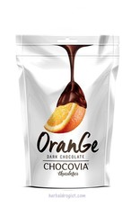 Chocovia  Chocovia Sinaasappel met pure chocolade 120g