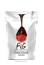 Chocovia  Chocovia Vijg Bedekt Met Pure Chocolade