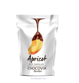 Chocovia  Chocovia Abrikoos Bedekt Met Melkchocolade