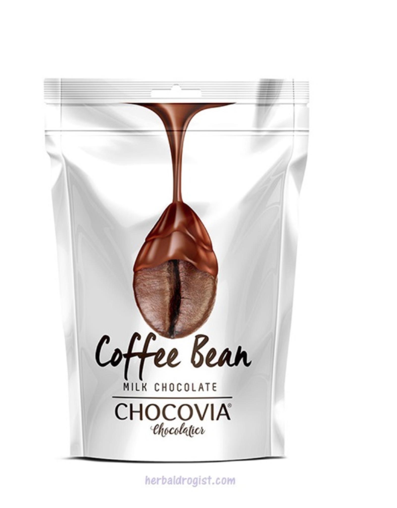 Chocovia  Chocovia Koffiebonen met melkchocolade 120g