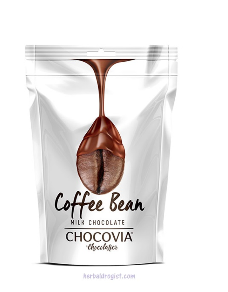 Chocovia  Chocovia Koffiebonen Bedekt Met Melkchocolade