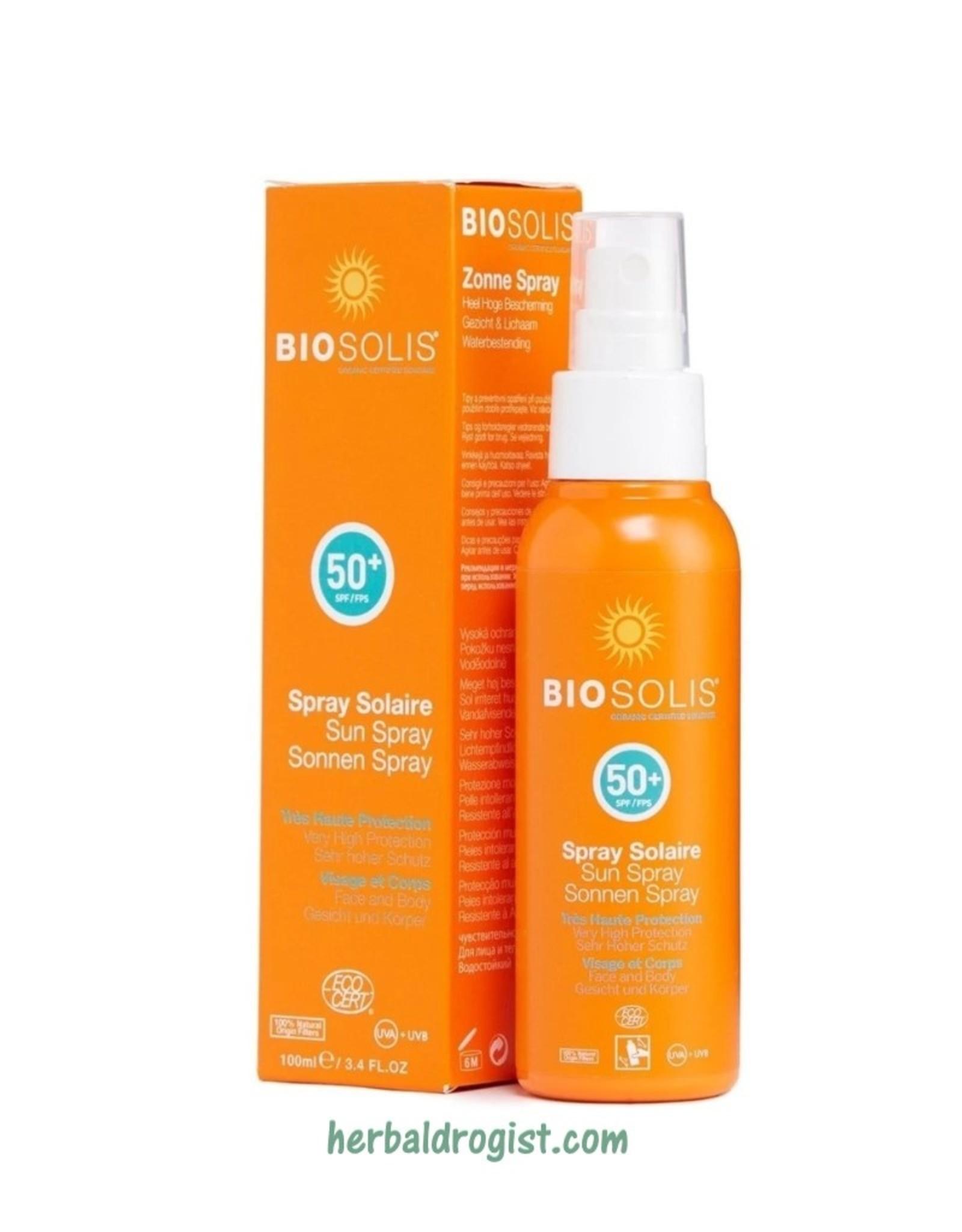 Biosolis Biosolis Organik  Güneş spreyi SPF 50