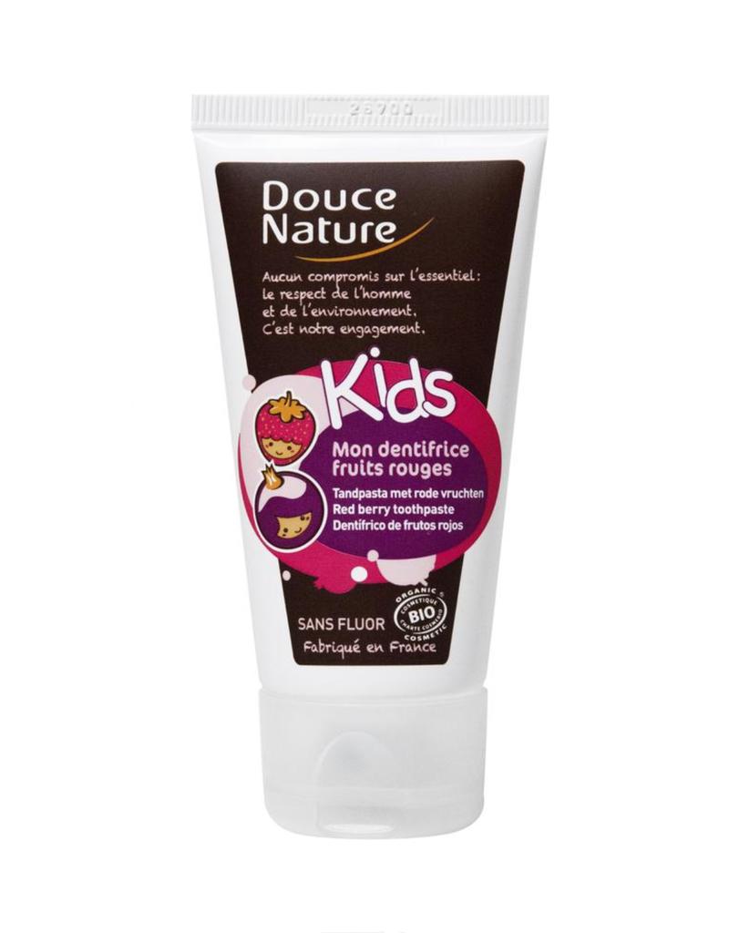Douce Nature Douce Nature BIO Kindertandpasta Rood Fruit 50 ml