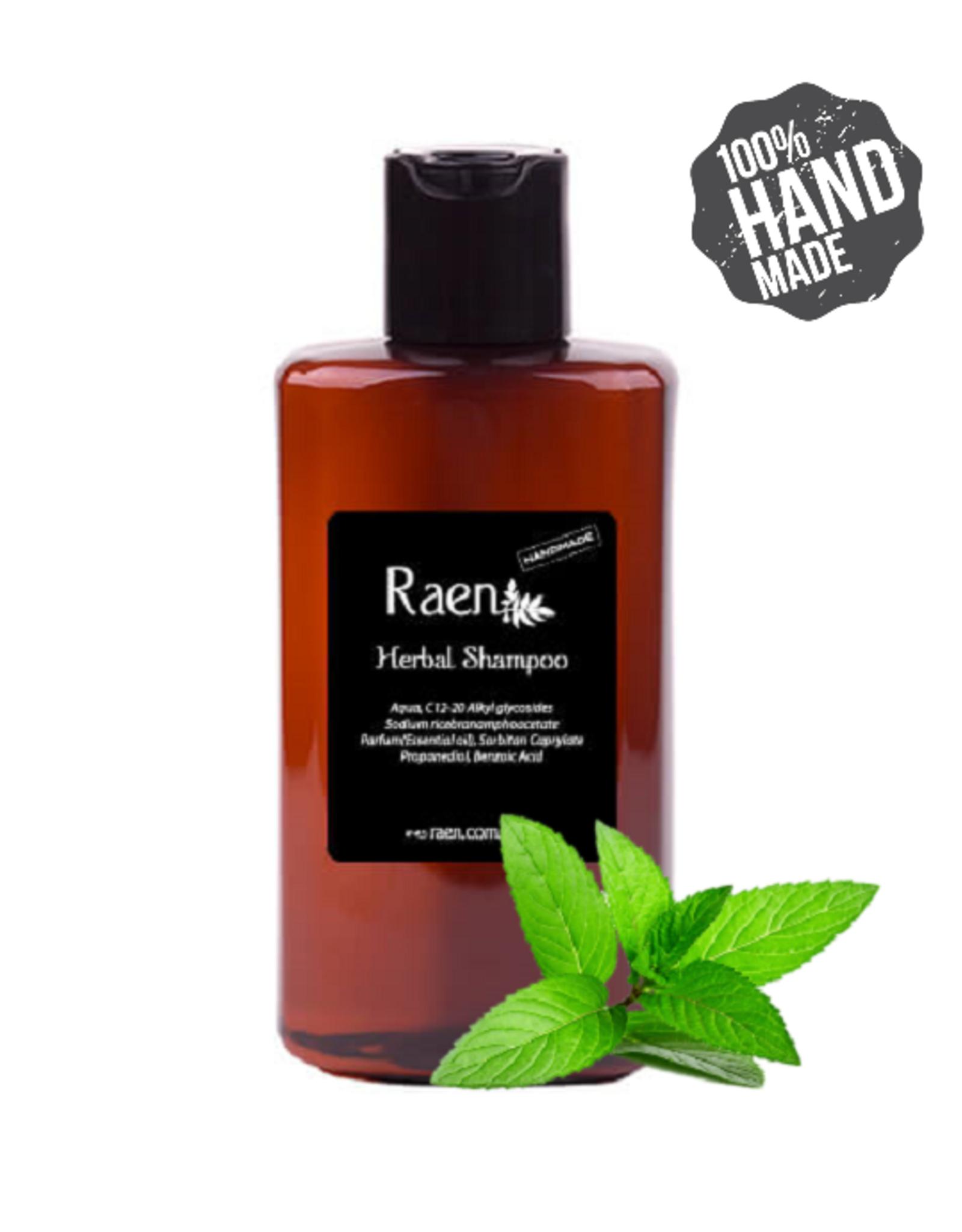 Raen Raen Kruiden Shampoo - Mint 220 ml