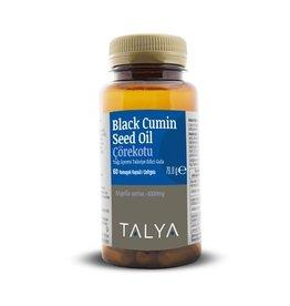 TALYA TALYA Zwarte Komijn Olie 60 Capsulen 2000 Mg