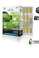 Zade Vital Zade Vital Omega 3 visolie Premium voor kinderen - 30 zachte capsules