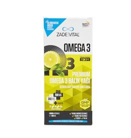 Zade Vital Zade Vital Omega 3 vloeibare visolie Premium voor kinderen met citroensmaak