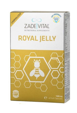 Zade Vital Zade Vital Royal Jelly 1000 Mg- 40 Softgel Capsules