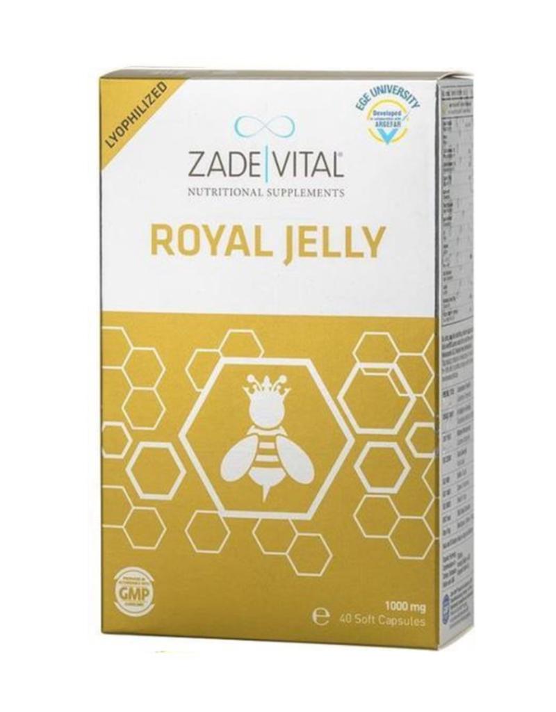 Zade Vital Zade Vital Royal Jelly 1000 Mg- 40 Softgel Capsules