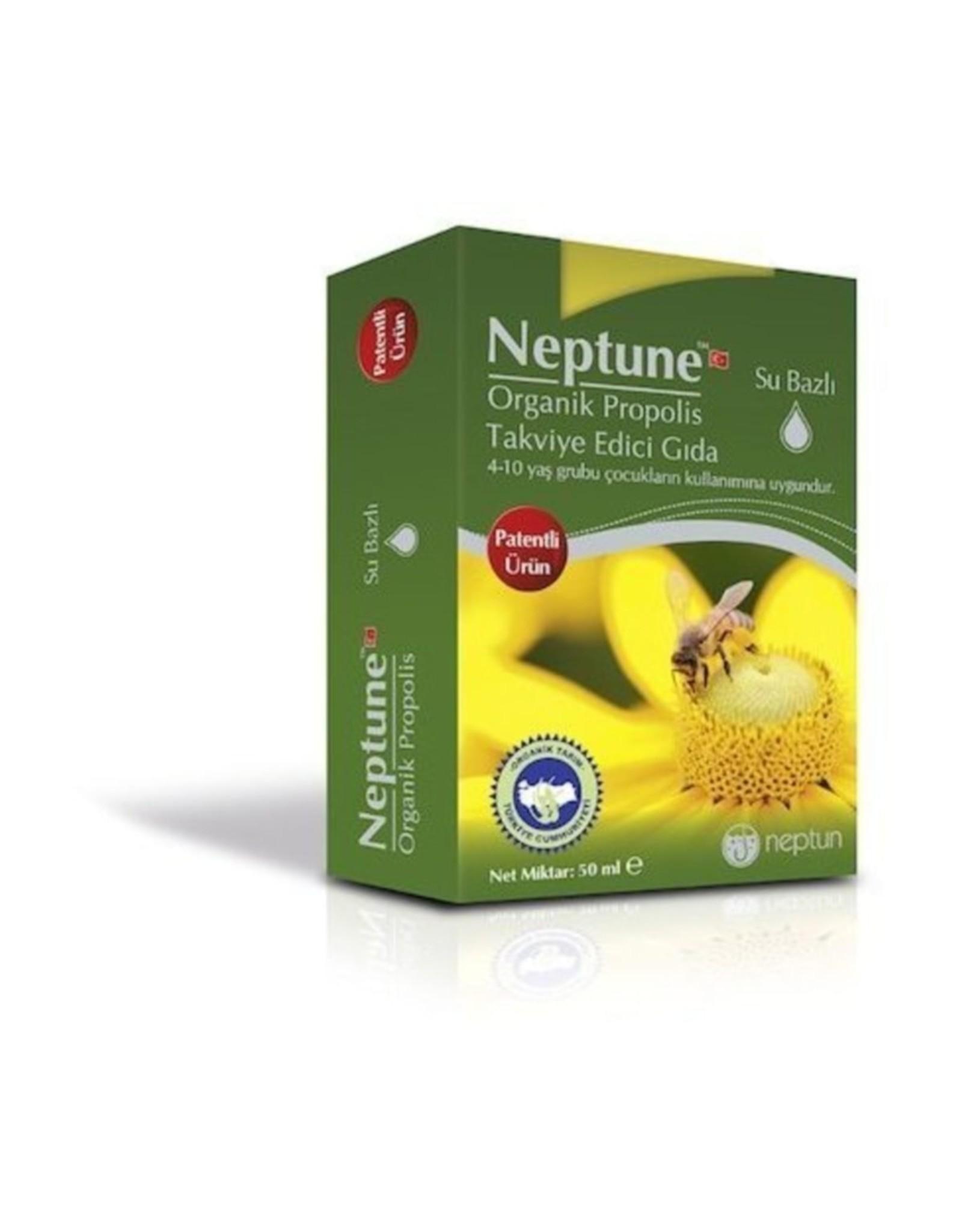 Neptune Neptune Organische Propolis Druppels 50 ml (Alcoholvrij)