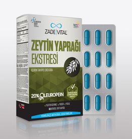 Zade Vital Zade Vital Olijfblad Extract 60 Capsules