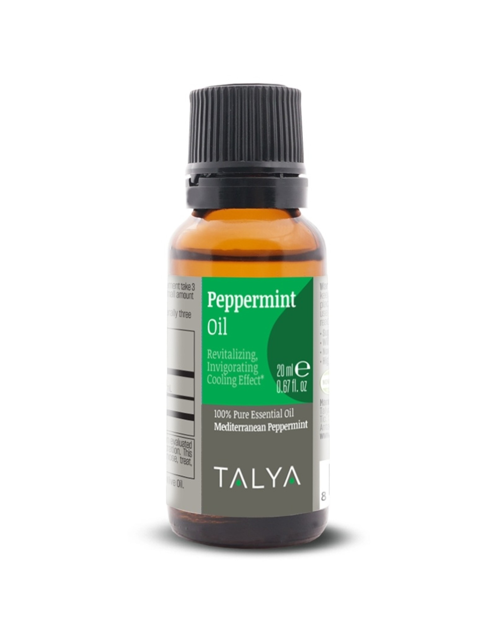 TALYA Talya Pepermunt Olie Essentiële Olie 20 ml