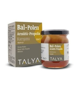 TALYA Talya Honing, Bijenpollen, Royal Jelly & Propolis 230g