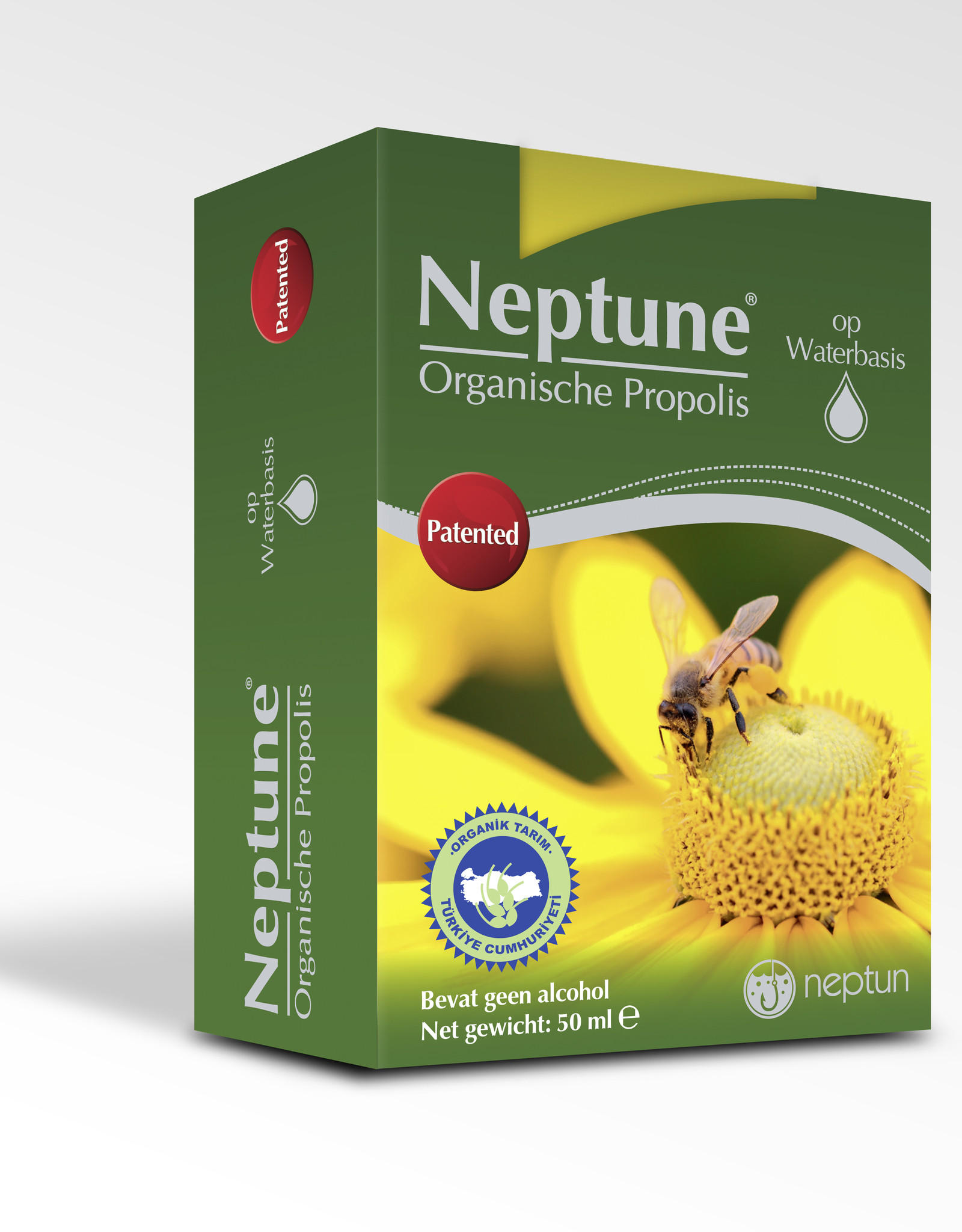 Neptune Neptüne Organik Propolis Damla 50 ml ( Alkolsüz)