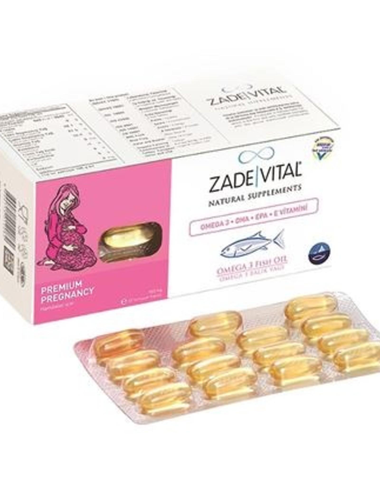 Zade Vital Zade Vital Hamileler İçin Omega 3 Balık Yağı 900 Mg