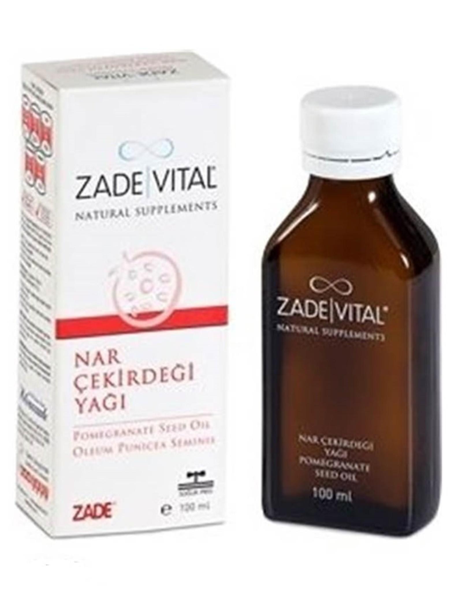 Zade Vital Zade Vital Granaatappel Olie 100 ml