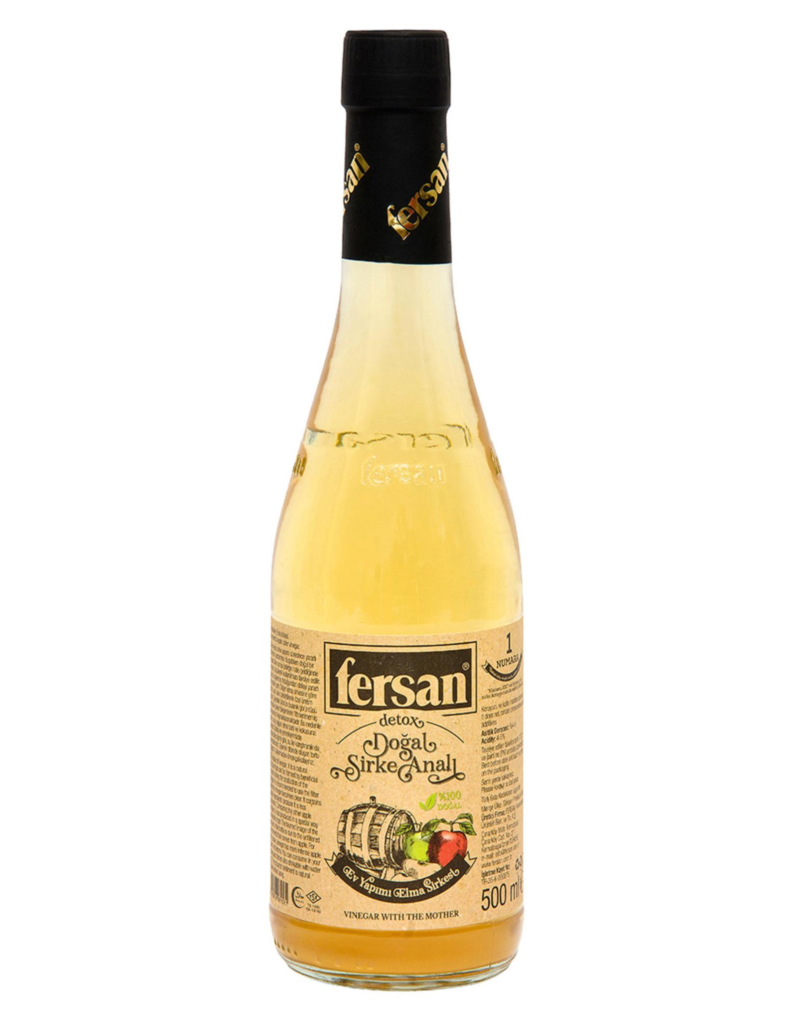Fersan Fersan ongefilterde appelazijn 500 ml