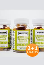 Herbaland Herbaland Gummy Vegan Multivitaminen & Minerals 2+1 Bedava