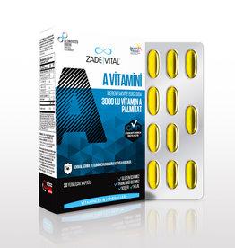 Zade Vital Zade Vital A Vitamini 30 Yumuşak Kapsül