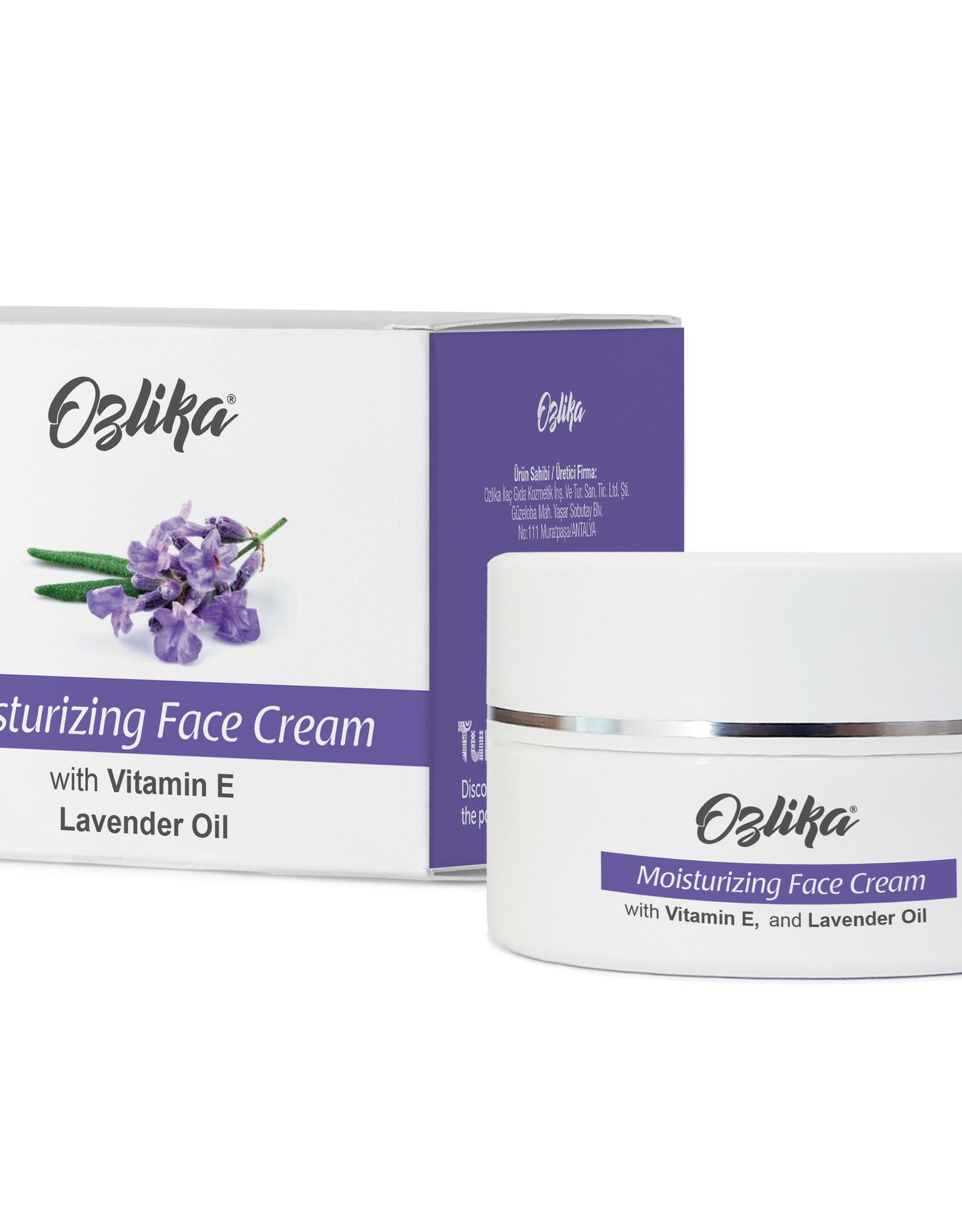 Ozlika Ozlika Hydraterende gezichtscrème met lavendelolie 45ml