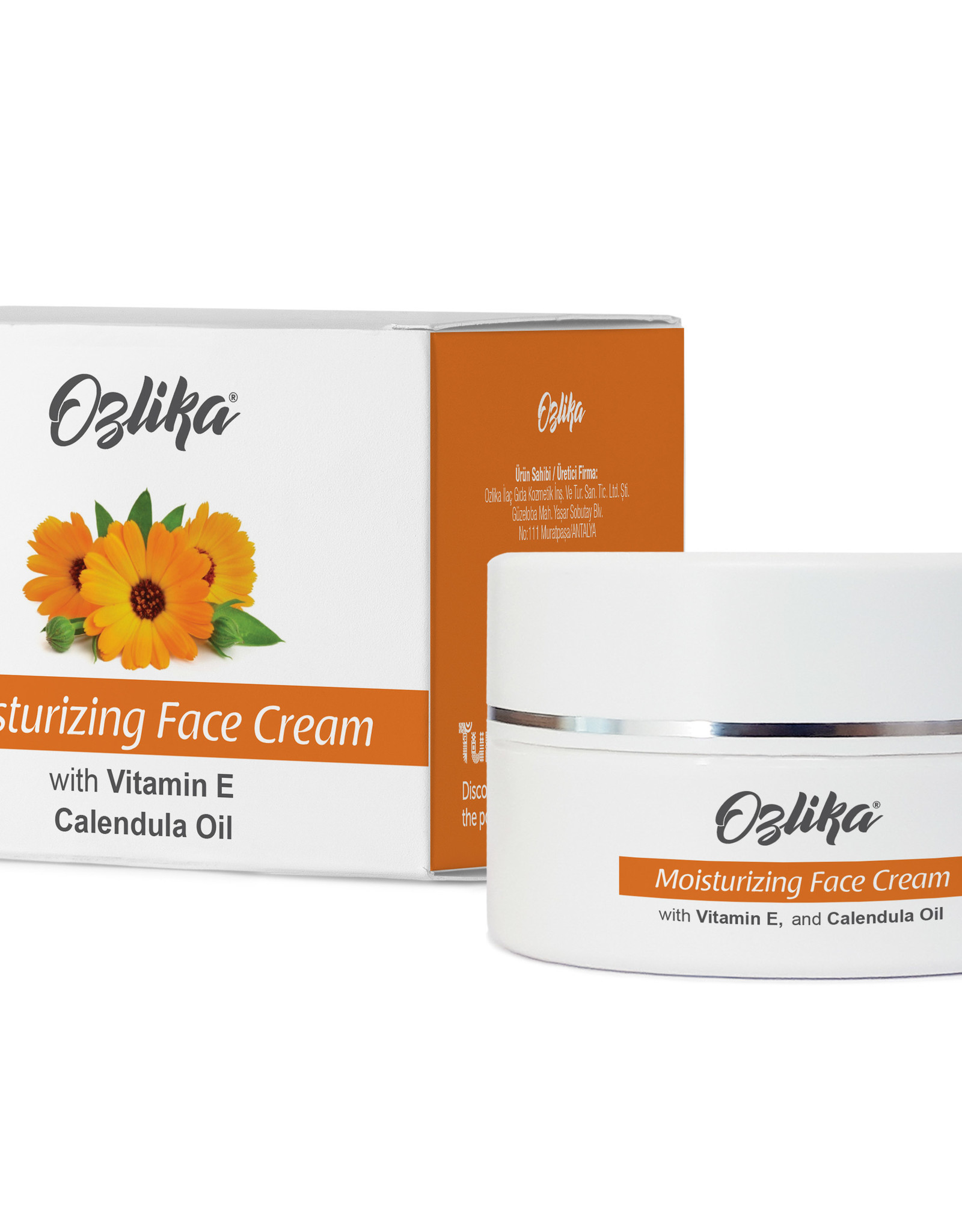 Ozlika Ozlika Natuurlijke Calendula-olie crème 45ml