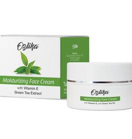 Ozlika Mousturiserende gezichtscrème met extract van groene thee