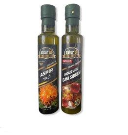 Herbal Drogist Naturel Saffloerolie & Appel Azijn met Sandarac Gum