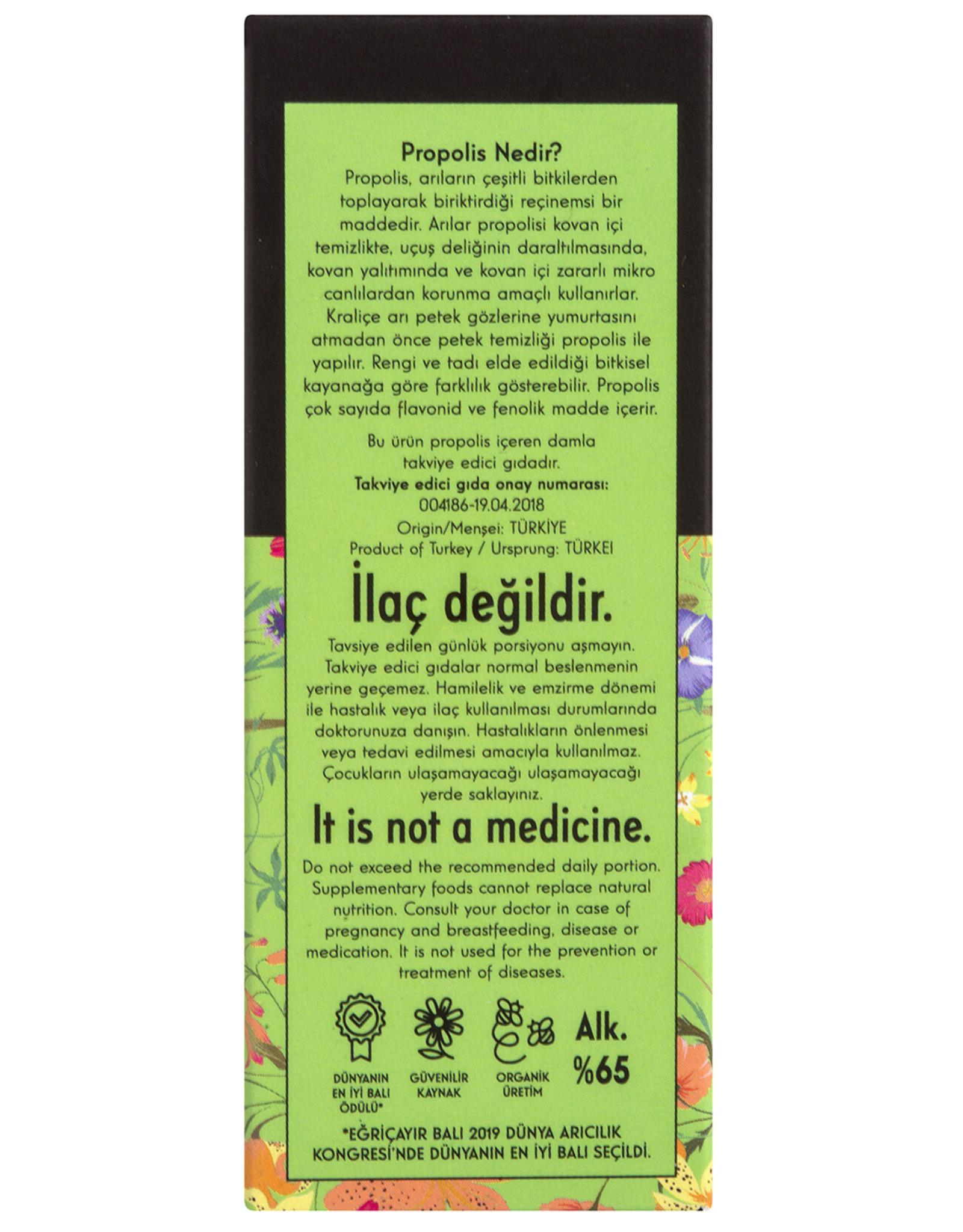 Eğriçayır Eğriçayır Organik Alkol Bazlı Propolis 20 ml