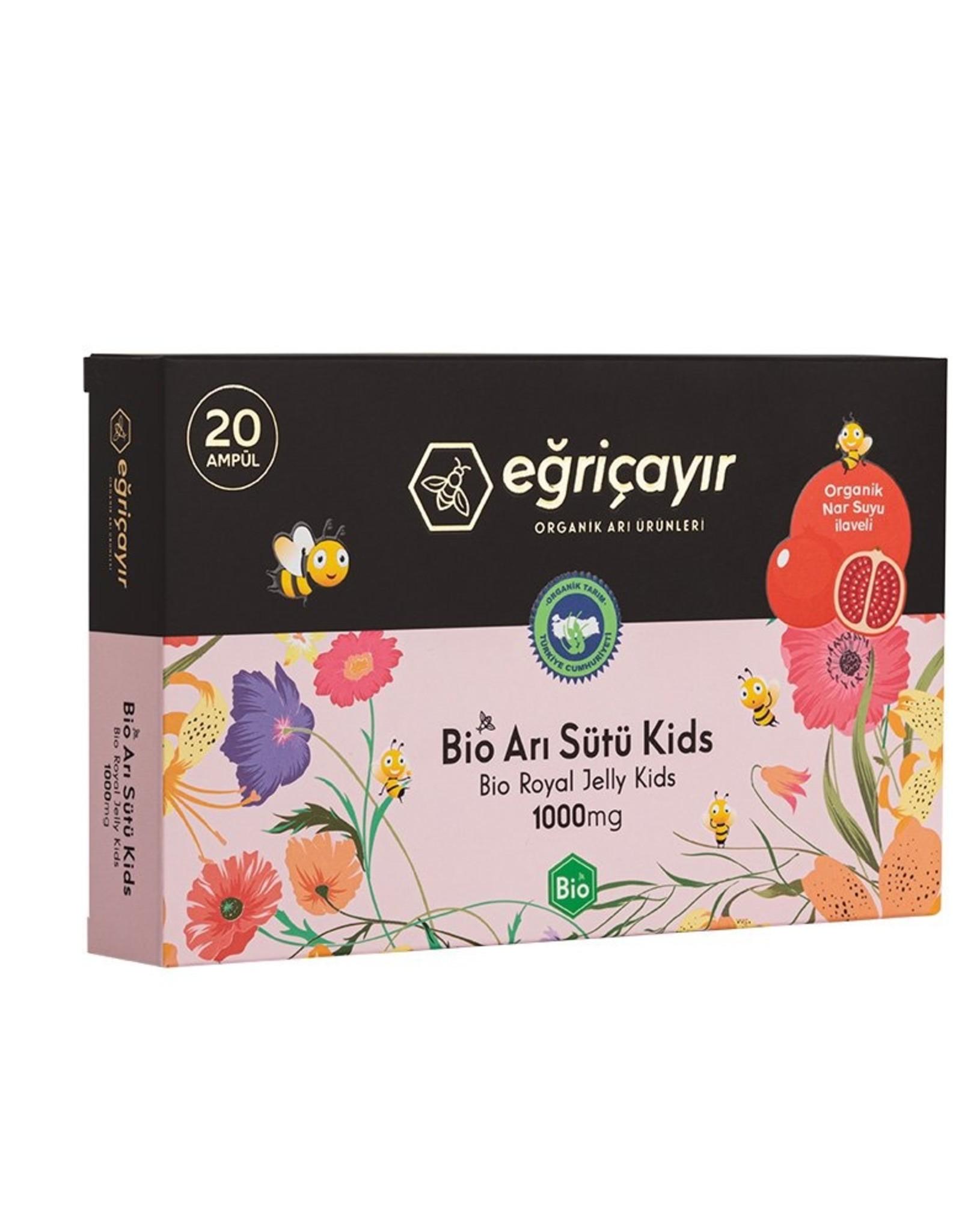 Eğriçayır Eğriçayır Bio Royal Jelly  voor Kinderen 1000mg 20 stuks