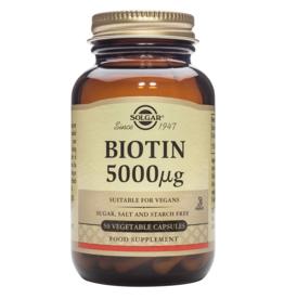 Solgar Solgar Biotin 5000 µg
