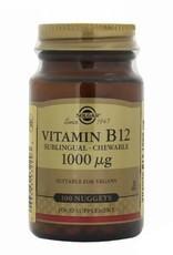 Solgar Solgar Vitamin B-12 1000 µg nuggets (Kauwtabletten)