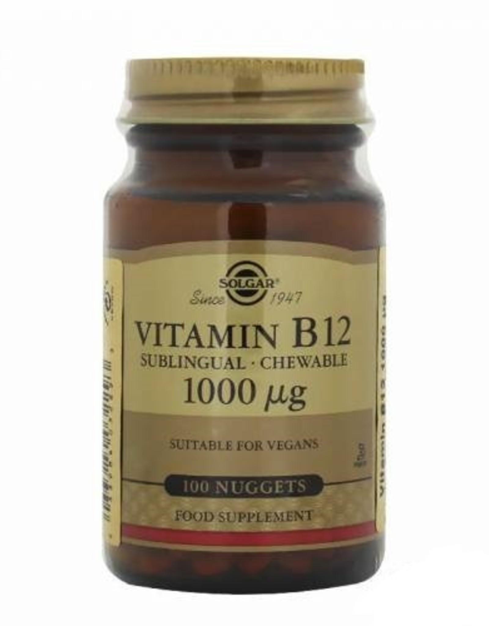 Solgar Solgar Vitamin B12 1000 mcg 100 Tablet