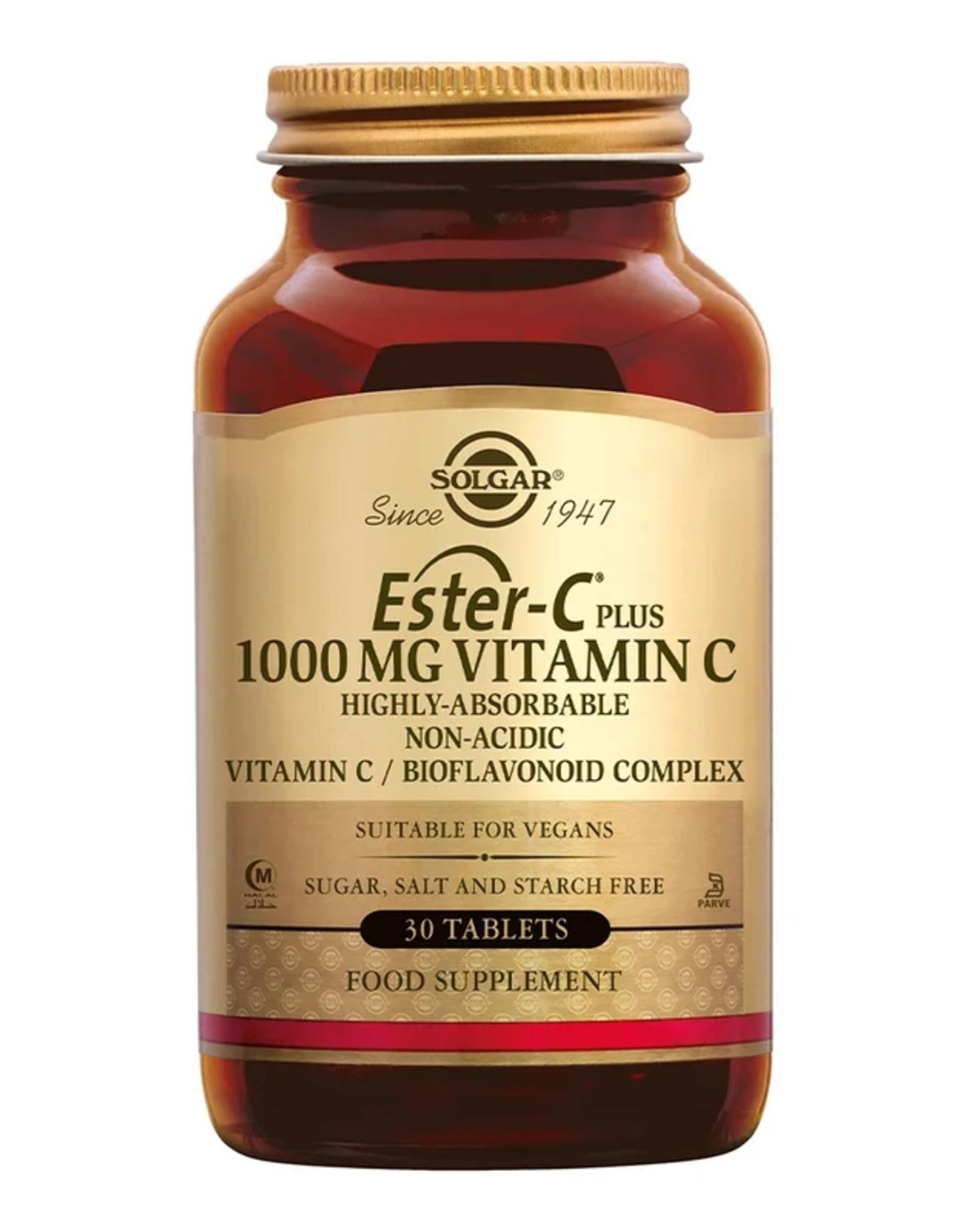 Solgar Solgar Ester-C Plus 1000 mg (zuurvrije vitamine C) - 30 stuks