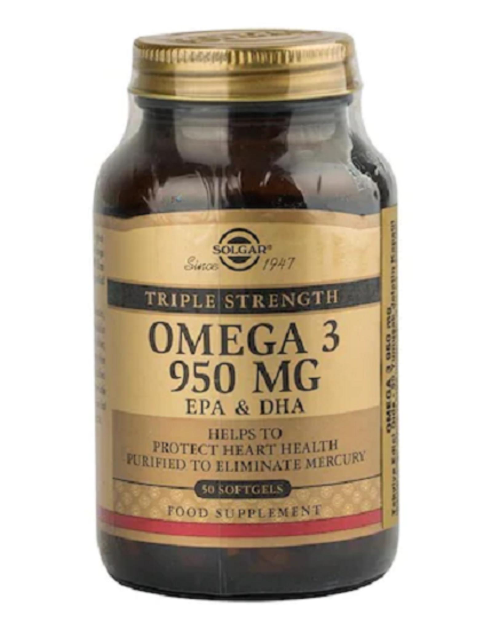 Solgar Solgar Omega 3 950 Mg 50 Adet