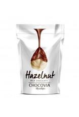 Chocovia  Chocovia Hazelnoot met melkchocolade 120g